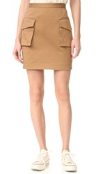 Dsquared Military Miniskirt Mud