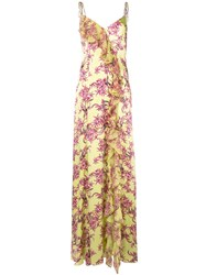 Cinq A Sept Velma Gown Yellow