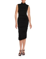 Bailey 44 Ludlow Ruched Knit Dress Black