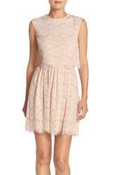 Women's Marc New York Lace Two Piece Dress
