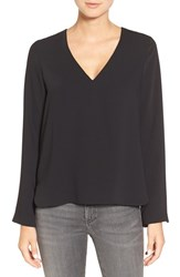 Cooper And Ella Women's 'Jeanne' V Neck Blouse