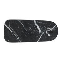 Normann Copenhagen Pebble Chopping Board Black Black And White