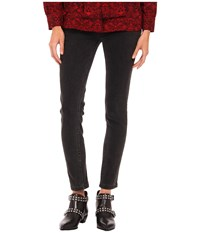 Marc By Marc Jacobs Black Stretch Denim Stone