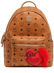 Mcm Small New Years Faux Leather Backpack