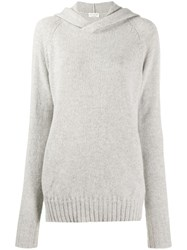 Ma'ry'ya Hooded Sweater Grey
