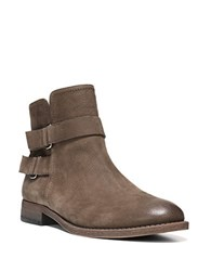 Franco Sarto Harwick Leather Ankle Boots Brown