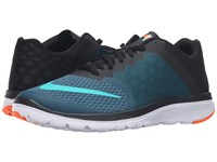 Nike Fs Lite Run 3 Midnight Turquoise Clear Jade Black White Men's Running Shoes Blue