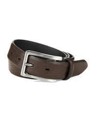 Bugatti Leather Belt Brown