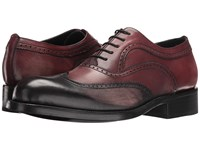 Messico Cristian Black Vintage Wine Men's Shoes Brown