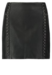 Morgan Mini Skirt Noir Black