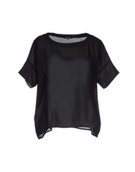 Morgan Blouses Black