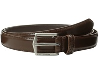 Stacy Adams 30Mm Pinseal Leather Belt X Chocolate Men's Belts Brown