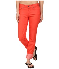 Prana Kara Jean Neon Orange Women's Jeans