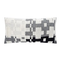 Donna Wilson Pennan Woven Cushion Black White Black And White