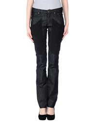 Jeckerson Denim Denim Trousers Women Black