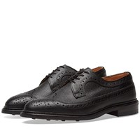 Tricker's Fulton Long Wing Brogue Black