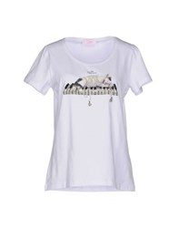 Clips More Topwear T Shirts Women White