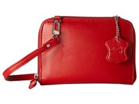 Scully Addison Stadium Crossbody Red Cross Body Handbags