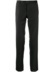 Billionaire Classic Slim Leg Trousers Black