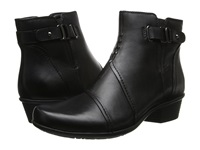 Earth Atlas Black Calf Leather Women's Boots