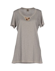 Jijil T Shirts Light Grey
