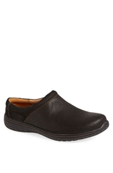 Alegria 'Art' Leather Clog Men Black