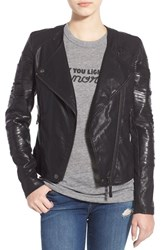 Blank Nyc Women's Blanknyc 'Kiss And Tell' Faux Leather Jacket