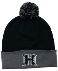 Top Of The World Hawaii Warriors 2 Tone Pom Knit Hat