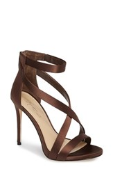 Imagine By Vince Camuto Women's 'Devin' Sandal Dark Chocolate Satin