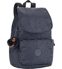 Kipling Cayenne Nylon Backpack Dot Dot Dot Emb
