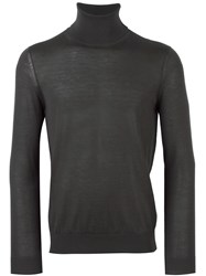 Pal Zileri Roll Neck Jumper Grey