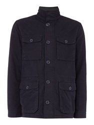 Criminal Men's Kendal Field Jacket Navy