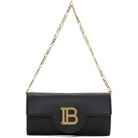 Balmain Black Wallet On Chain Bag
