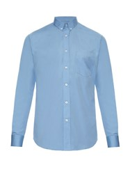 Ami Alexandre Mattiussi Long Sleeved Cotton Poplin Shirt