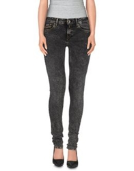 Replay Denim Pants Black