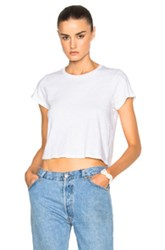 Re Done 1950S Boxy Tee In White