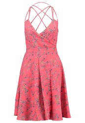 Morgan Reno Summer Dress Corail Coral