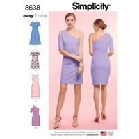 Simplicity 'S Dress Sewing Pattern 8638