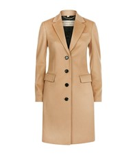 Burberry Sidlesham Blend Coat Female Camel