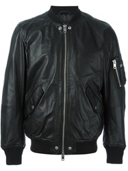 Diesel 'L Kit' Bomber Jacket Black
