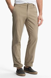 Ag Jeans Men's Ag Slim Straight Leg Chinos Light Khaki