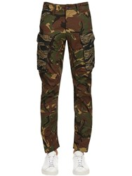 G Star Rovick Rc 3D Tapered Cotton Cargo Pants Camouflage