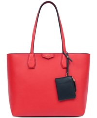Nine West Caden Large Tote Fierey Red