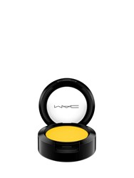 M A C Small Matte Eyeshadow Chrome Yellow
