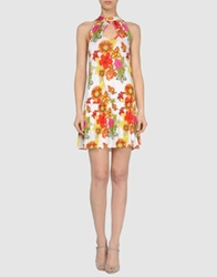 Pam And Arch Short Dresses White