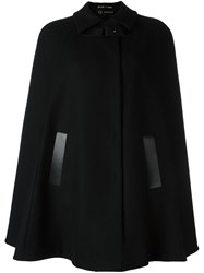 Versace Buckled Cape Black