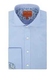 Simon Carter Men's Twill Cooper Shirt Blue