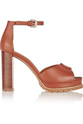 See By Chloe Ivy Textured Leather Platform Sandals