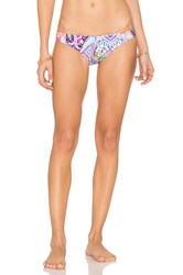 Seafolly Kashmir Hipster Bottom Pink