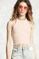 Forever 21 Halter Knit Crop Top